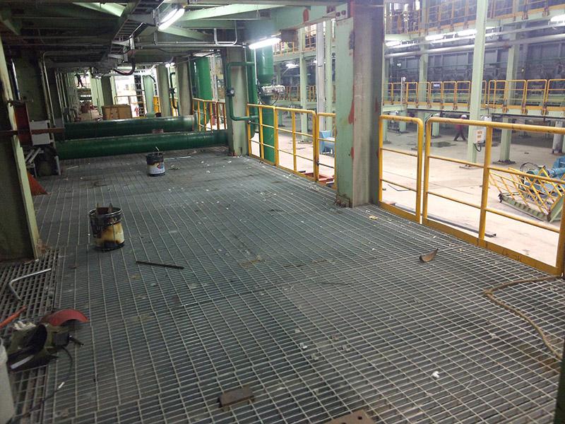 茂名市石化工业园_工程案例_无锡昌鸿钢格板有限公司